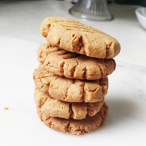 grainfree peanut butter cookie
